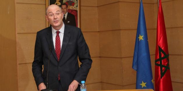 Rupert Joy, ambassadeur de l'Union européenne au Maroc.