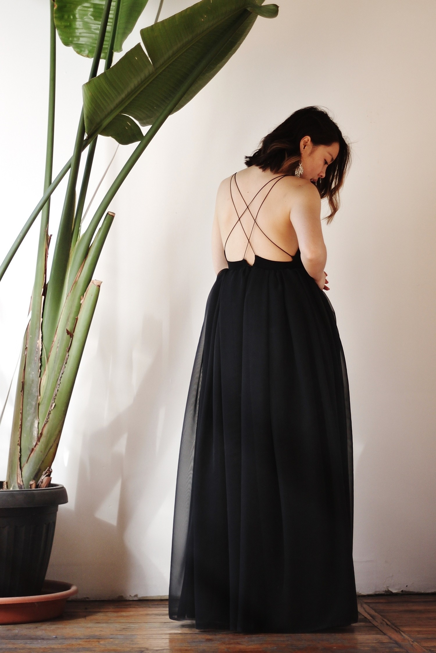 With Wendy: DIY Chiffon Prom Dress