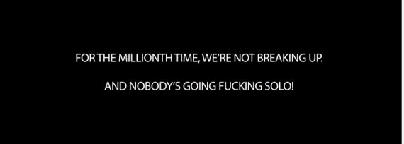message foo fighters
