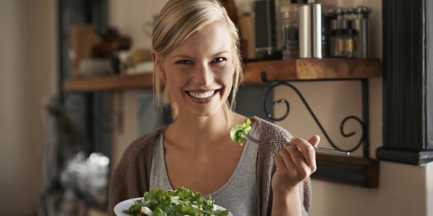 Genießer sollten ihren Salat am besten in einem Essig-Tuch einschlagen