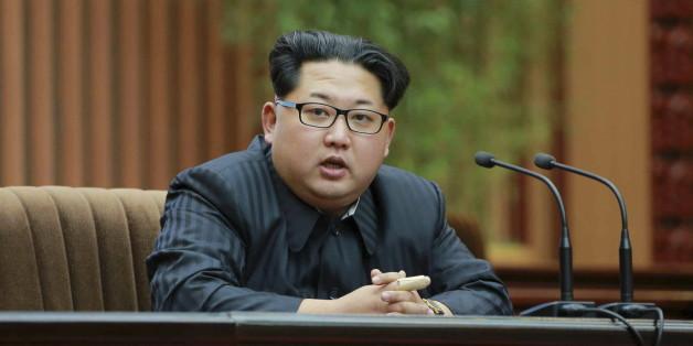 Der nordkoreanische Diktatur Kim Jong-Un