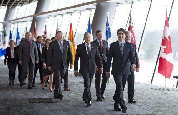 justin trudeau first ministers meeting vancouver