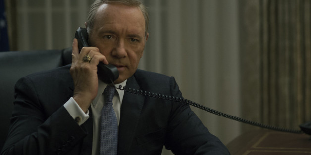 "Kevin Spacey als Frank Underwood in der Polit-Serie ""House of Cards"""