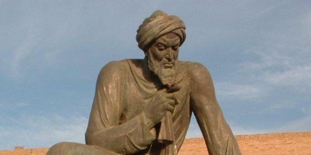 La statue de Al Khawarizmi en Ouzbékistan.
