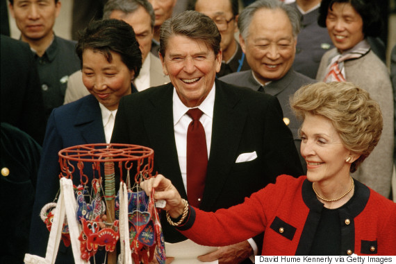 nancy ronald reagan