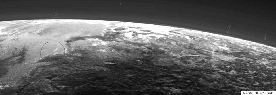pluto clouds