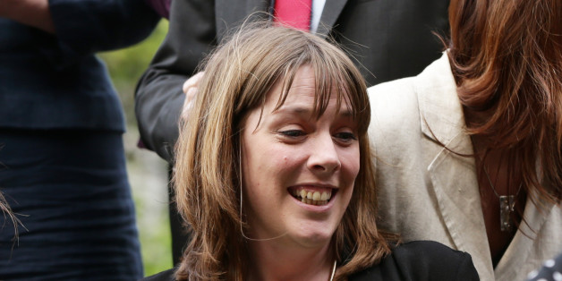 Jess Phillips MP with some of her newly-elected Labour MP colleagues during a photocall in Westminster, central London.