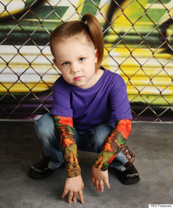 child tattoo sleeves