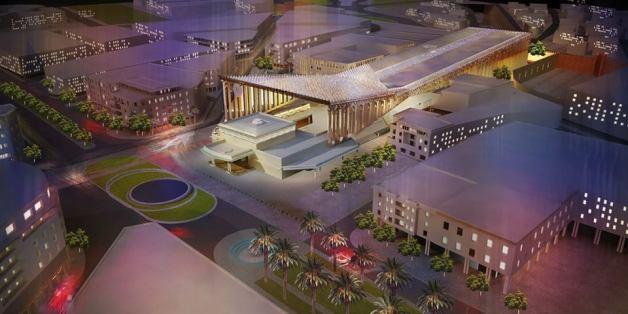Future gare de Rabat Ville