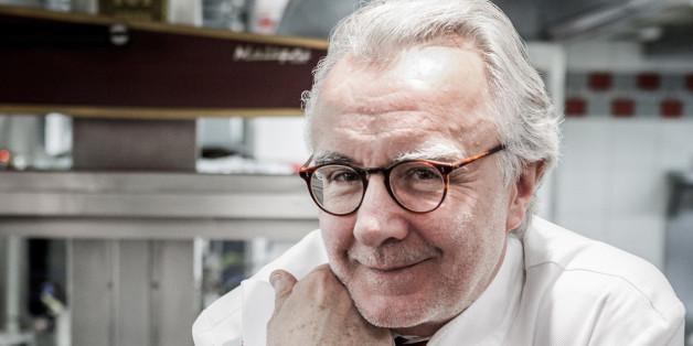 """Le chef cuisinier Alain Ducasse, à l'origine de l'opération """"Goût de France"""""""