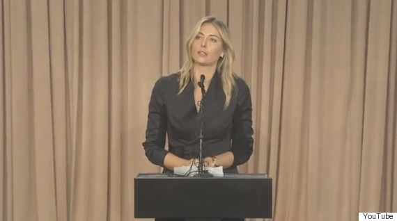 maria sharapova los angeles drug doping fail