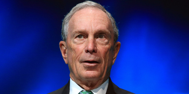 FILE - In this Dec. 3, 2015, file photo, former New York Mayor Michael Bloomberg speaks during the C40 cities awards ceremony, in Paris. Bloomberg, the billionaire former three-term mayor of New York City, has decided against mounting a third-party White House bid in 2016. (AP Photo/Thibault Camus, File)