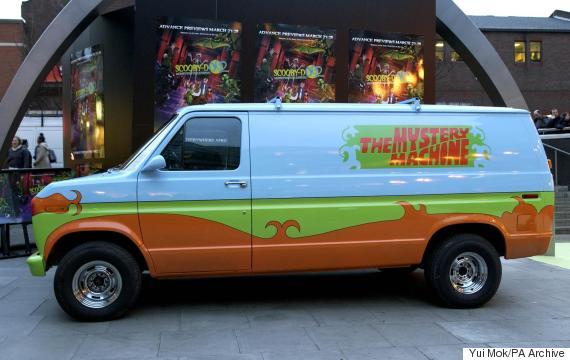scooby doo mystery van