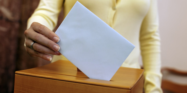 (GERMANY OUT) election, woman at the ballot box  (Photo by Wodicka/ullstein bild via Getty Images)