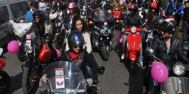 Les bikeuses marocaines se donnent rendez-vous à Marrakech