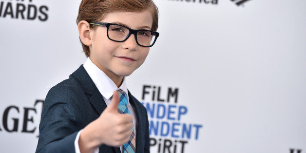 Jacob Tremblay arrives at the Film Independent Spirit Awards on Saturday, Feb. 27, 2016, in Santa Monica, Calif. (Photo by Jordan Strauss/Invision/AP)
