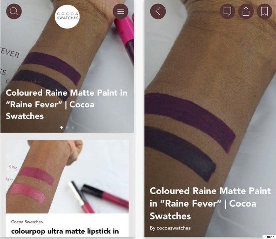 cocoa swatches app