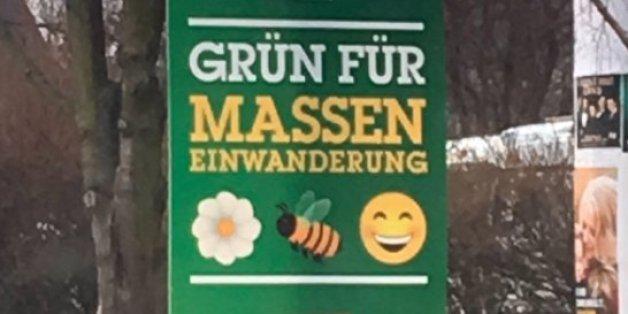 Absurde Fake-Kampagne: Unbekannte fälschen Grünen-Plakate in Sachsen-Anhalt