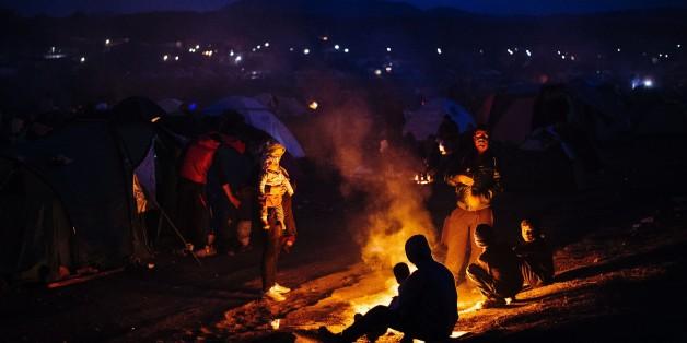 Griechenland steht vor der Räumung des Flüchtlingslagers in Idomeni