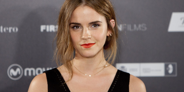 """FILE - In this Aug. 27, 2015 file photo, English actress Emma Watson poses for photographers during the photocall for the film, """"Regression,"""" in Madrid, Spain. Watson, the UN Women Global Goodwill Ambassador, and Forest Whitaker, a UNESCO Special Envoy for Peace, joined UN Women Executive Director Phumzile Mlambo-Ngcuka on International Women's Day at The Public Theater in Manhattan. They were there to announce a week of arts events aimed at initiating a dialogue about gender equality.  (AP Phot"""