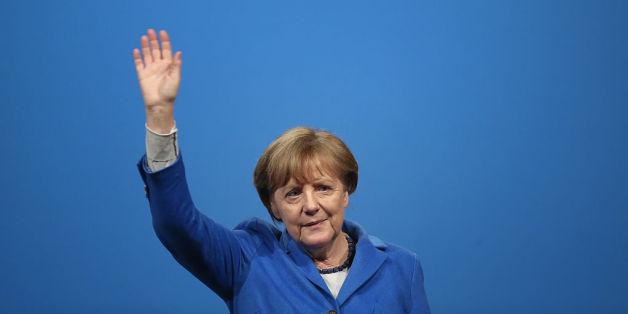 Die Bundeskanzlerin verteidigt ihre Politik