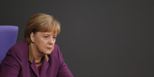 Im Zentrum der Kritik: Österreichische und Schweizer Journalisten haben Kanzlerin ANgela Merkel erneut für ihre Flüchtlingspolitik kritisiert