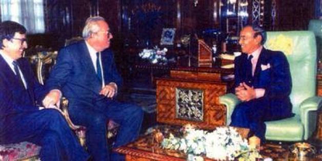 Quand Hassan II recevait Jean-Marie Le Pen