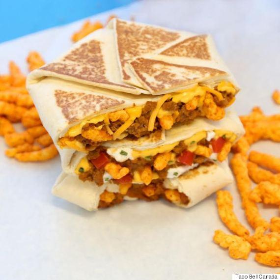 taco bell cheetos chrunchwrap