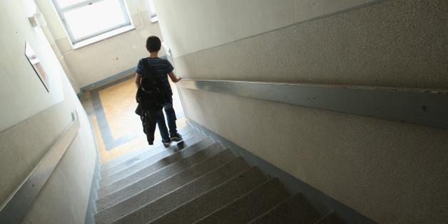 Marode Schule in Darmstadt