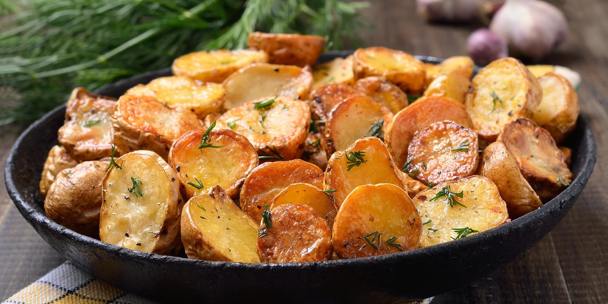 Как вкусно пожарить картошку пошагово