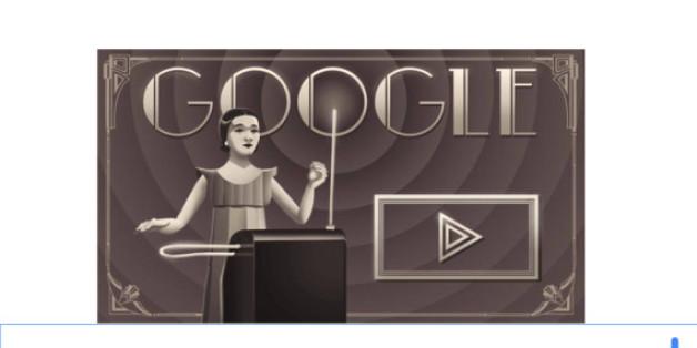 Google Doodle für Clara Rockmore