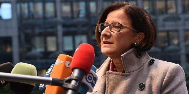 Die österreichische Innenministerin Johanna Mikl-Leitner