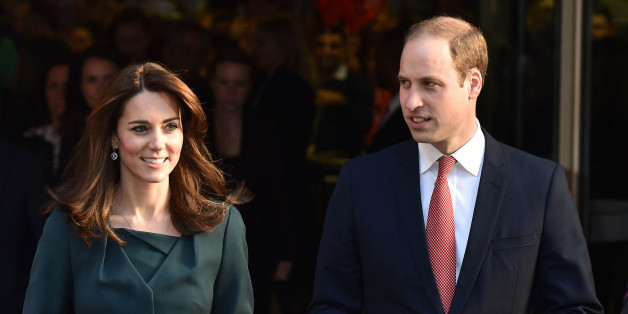 Photo by: KGC-42/STAR MAX/IPx 2015 12/9/15 Prince William The Duke of Cambridge and Catherine The Duchess of Cambridge at ICAP Charity Day in the Broadgate Retail Estate. (London, England, UK)