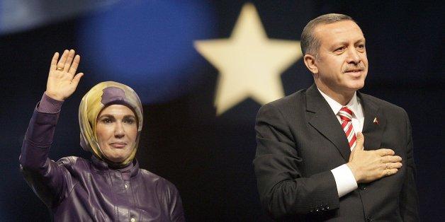 Die Frau des türkischen Präsidenten sorgt derzeit mit umstrittenen Äußerungen für Schlagzeilen