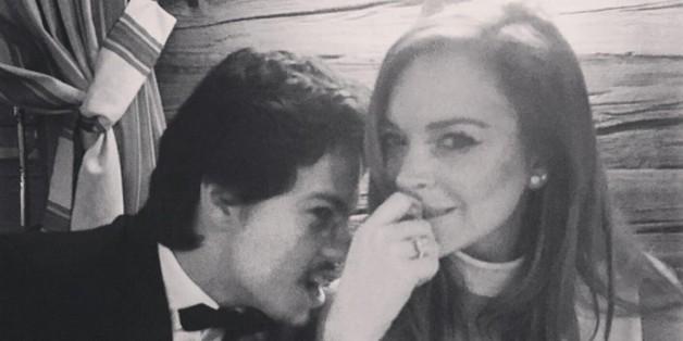 Er ist wohl Lindsay Lohans Neuer: Igor Tarabasov