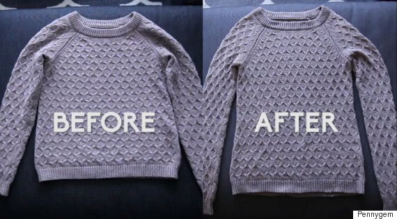 how to reshape jumper