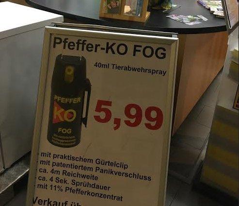 pfefferspray
