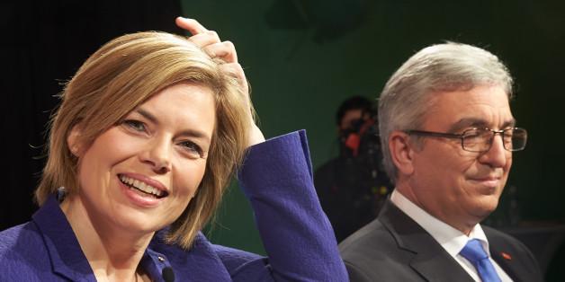 Die CDU-Spitzenkandidatin Julia Klöckner und der SPD-Landesvorsitzende Roger Lewentz treffen am Donnerstag im Fernsehen aufeinander.