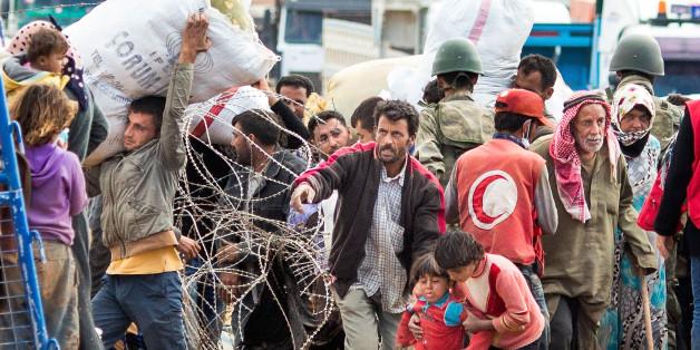 Ein deutsch-türkischer Aktivist will syrische Flüchtlinge davon abhalten, nach Europa zu kommen