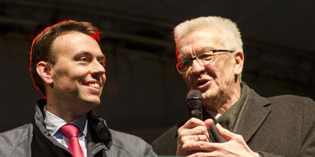 Wollten zunächst nicht mit der AfD diskutieren: Ministerpräsident Winfried Kretschmann (Grüne) und SPD-Spitzenkandidat Nils Schmid