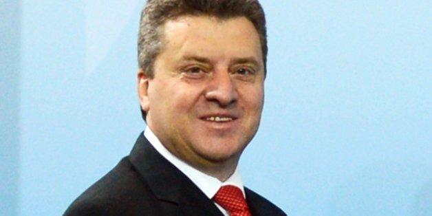 Der mazedonische Präsident  Gjorge Ivanov