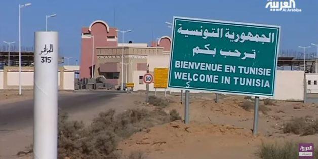 Poste frontalier algéro-tunisien Taleb Larbi, au sud-est