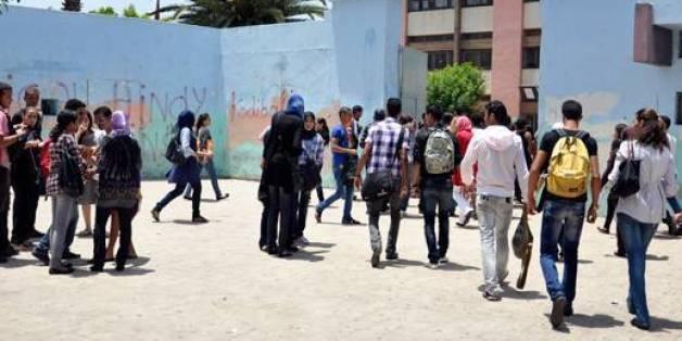 Lycéens marocains