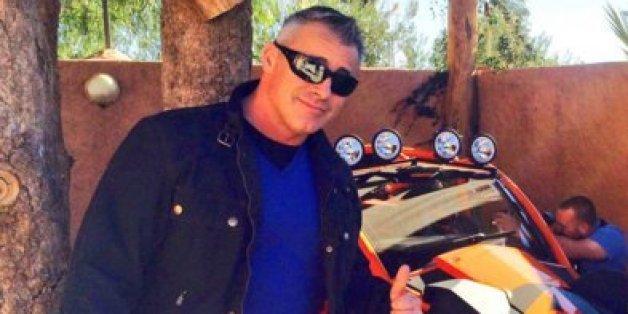Matt LeBlanc est au Maroc pour le tournage de Top Gear (PHOTOS)