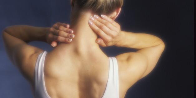 Nacken- und Kiefermuskeln sind Stressmuskeln