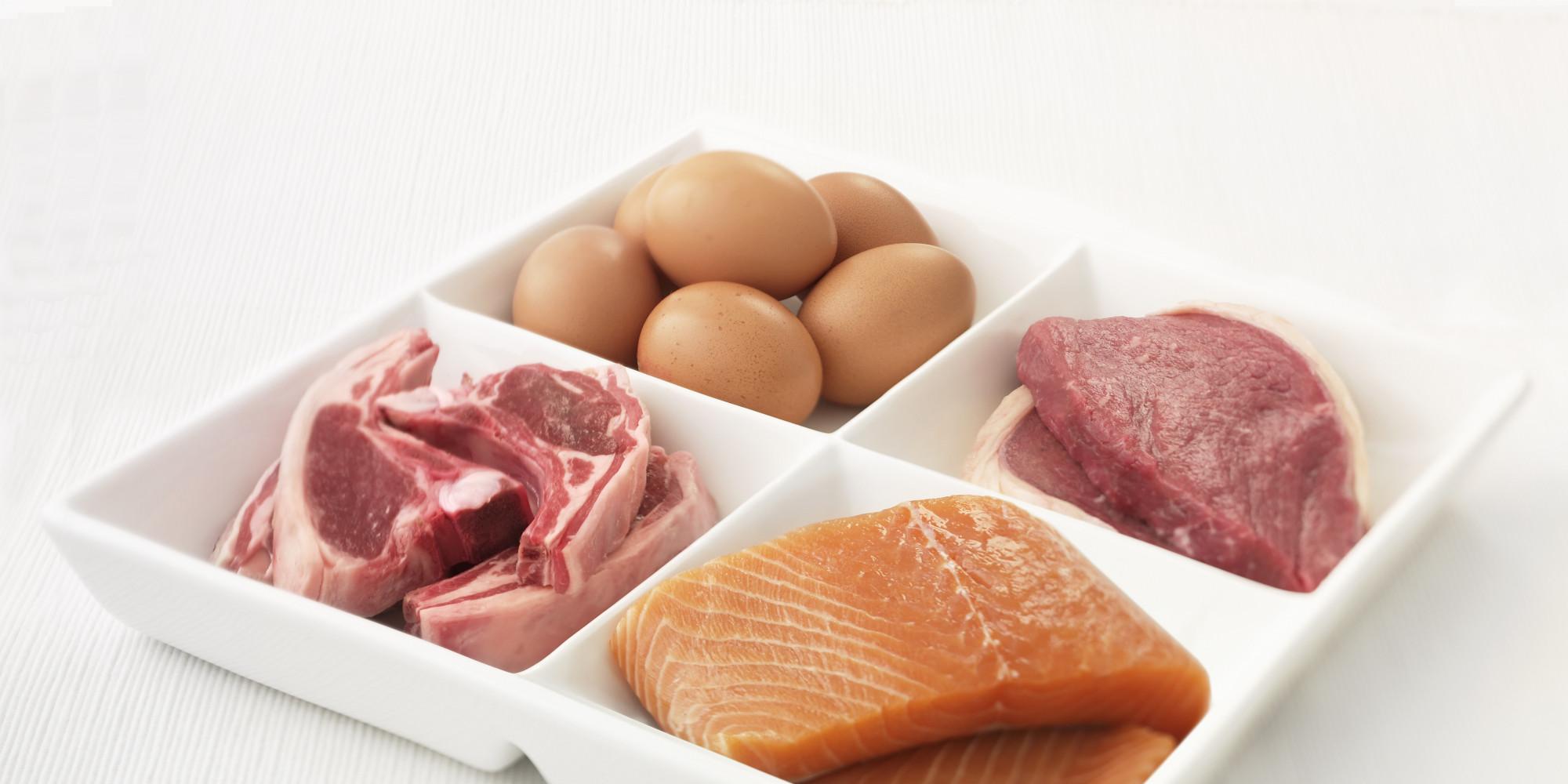 Диетане жирные сорта рыб и птицы