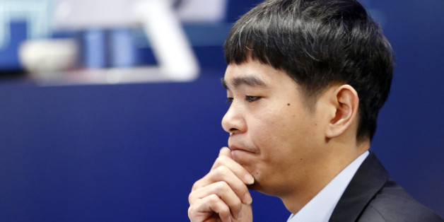 South Korean professional Go player Lee Sedol waits for the third match of the Google DeepMind Challenge Match against Google's artificial intelligence program, AlphaGo, in Seoul, South Korea, Saturday, March 12, 2016. (AP Photo/Lee Jin-man)