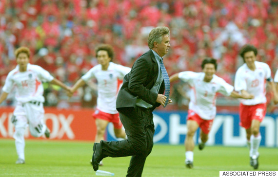 hiddink korea