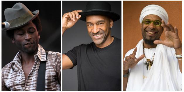 Keziah Jones, Marcus Miller et Omar Sosa à Mawazine