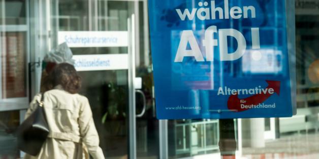 AfD-Wahlplakat